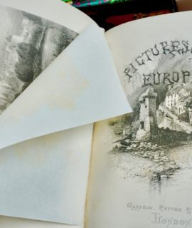 Picturesque Europe with illustrations on steel and wood, by the most eminent artists, Cassel, Petter, Galpin & Co.: London, Paris & New York (1876-79) (sold)