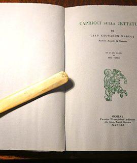Marugi, Capricci sulla jettatura