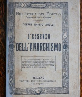 L'essenza dell'anarchismo