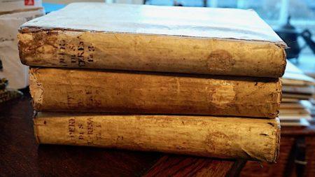 Opere spirituali della Santa Madre Teresa di Gesù divise in tre tomi, Venezia, 1767 (sold)
