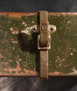 Vintage Bullets Cartridge Metal Box 1945-50