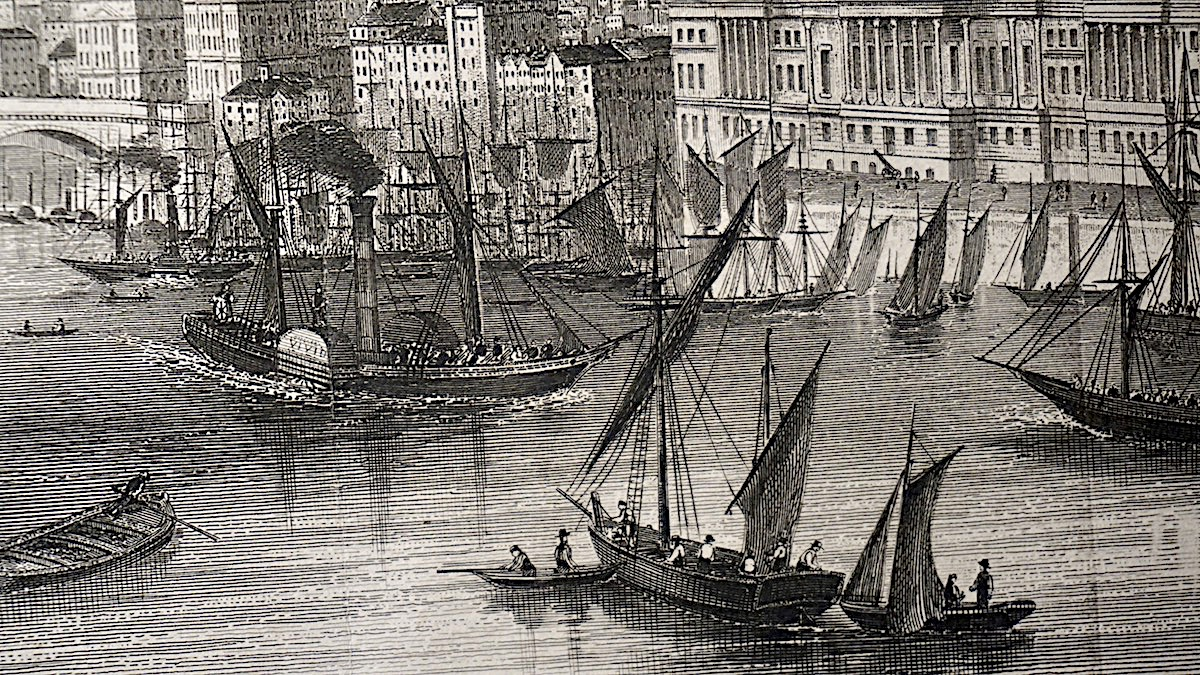 Antique Engraving Print London 1820 Antiche Curiosit 224