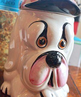 Vintage Droopy Dog Cookie Kensington Jar