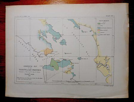 cal Map vicinity of San Francisco 1853