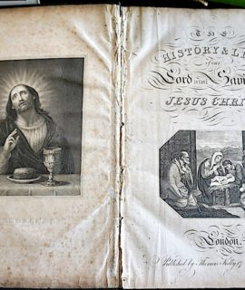 History and life Jesus Christ, London 1834