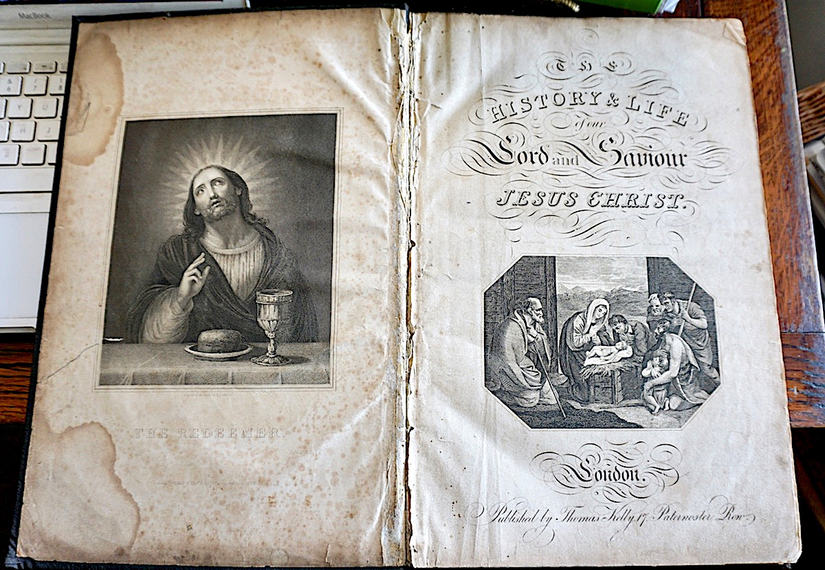 History And Life Jesus Christ London 1834 Antiche Curiosit 224