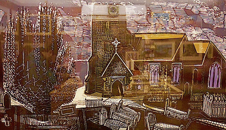 Lindsell Church, Edward Bawden