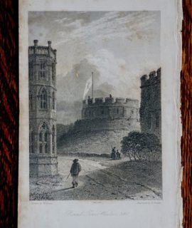 Round Tower, Windsor, 1660 published Sep 1833