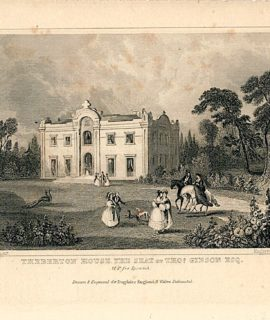 Theberton House the Seat of Thos Gibson Esq., 1810