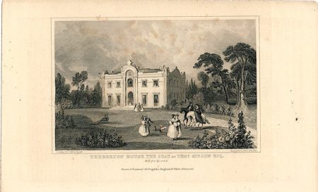 Theberton House the Seat of Thos Gibson Esq., 1810