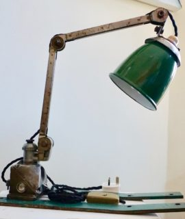 Hand made Vintage lamp 1950s Original