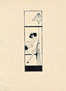 Original print Art Nouveau 1890