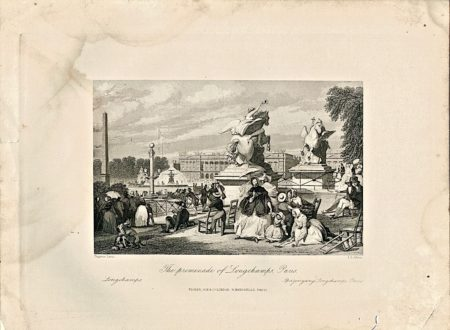 The Promenade of Longchamps, Paris, 1845