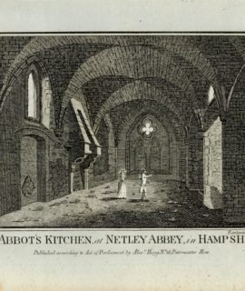 The Abbot's Kitchen at Netley Abbey in Hampshire, 1780