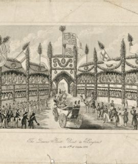 The Queen First Visit to Brigton, 1837