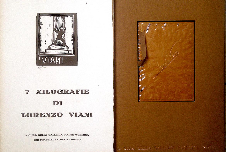 Lorenzo Viani, Xilografie