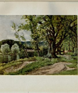 Vintage print, the Forest Pool, Chingford, 1908