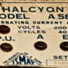 Vintage Radio Halcyon, 1937