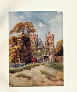 Vintage Print, Epping Forest, Netherhal, 1908