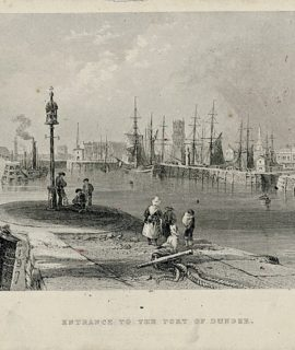 Entrance to the Port of Dundee, 1842