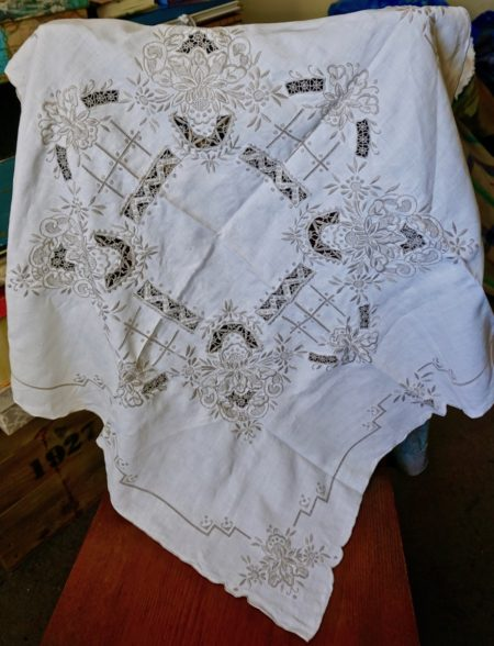 Vintage Handwork Tablecloth