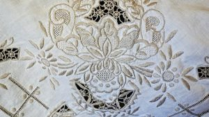 Vintage Handworked Tablecloth