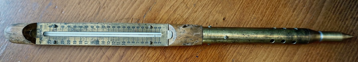 Antique Hotbed Thermometer