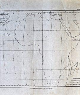 Antique Engraving Print, Africa, Achille Meissas et Michelot, 1859