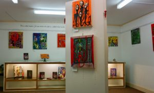 Oneiric art at Gosfield Gallery: from books to canvas