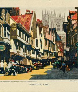 Vintage Print, Petergate Work, 1928