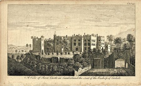 A View of Rose Castle in Cumberland the seat of the Bishop of Carliste, 1776