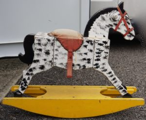 Antique Handmade Rocking Horse