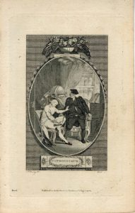 Antique Engraving Print, Connoisseur, 1786 (Plate I)