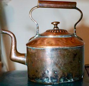 Antique Victorian Copper Kettle