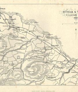 Antique Map, Dunbar & Vicinity, 1880