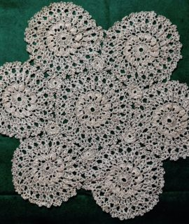 Vintage Handmade Lace Doily