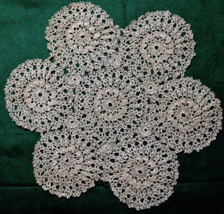 Vintage Handmade Lace Doily