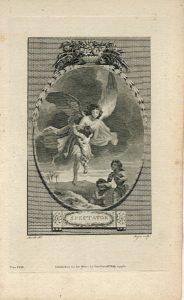 Antique Engraving Print, Spectator, 1786 (Plate XXXII)