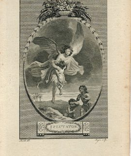 Antique Engraving Print, Spectator, 1786 (Plate XXXII)
