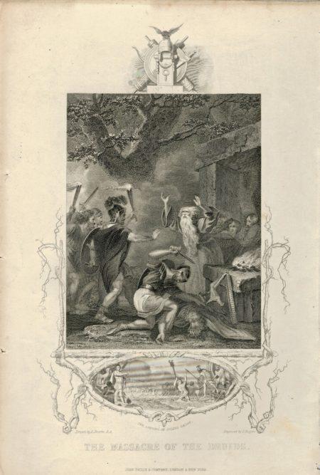 The Massacre of the Druids, 1850