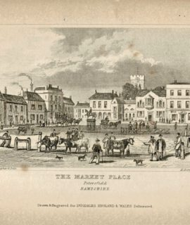 The Market Place Petersfield, 1830