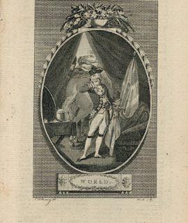 Antique Engraving Print, World, 1787 (Plate VIII)