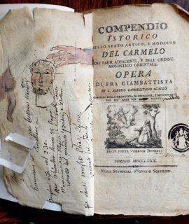 Compendio istorico dello stato antico, e moderno del Carmelo, dei paesi adjacenti, e dell'ordine monastico orientale, 1780