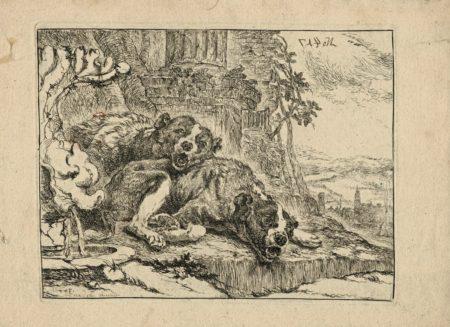 Rare Original Engraving, 1690 ca.