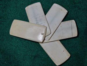 Rare Antique Ivory Feeler Gauge