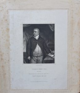 Antique Engraving Print, Charles James Fox, 1834