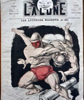"""Périodique """"La lune"""", Troisième année, n° 87, 3 Novembre 1867"""