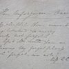 The Unforgiven one, Rare Manuscript, 1839