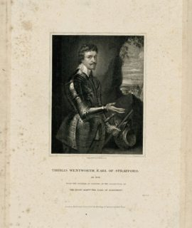 Thomas Wentworth Earl of Strafford