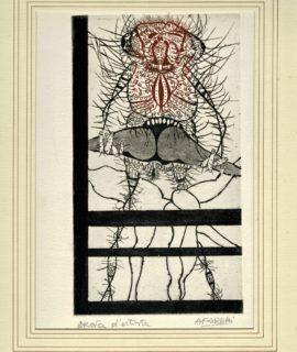 Original Engraving, Prova d'Artista, Agenore Fabbri